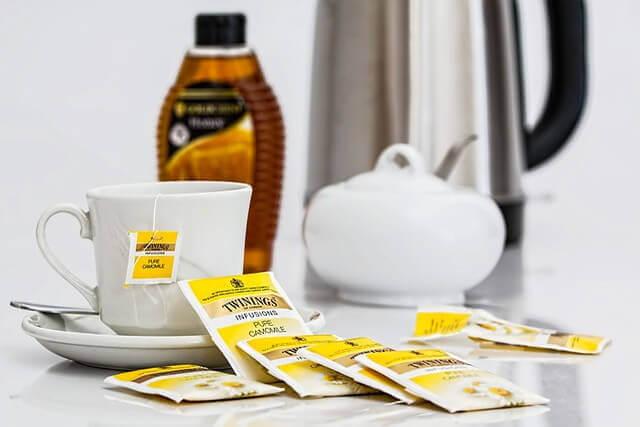 鍋で紅茶の入れ方